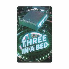 """Card"" Phoenix Card 2019004-Three IN A Bed"