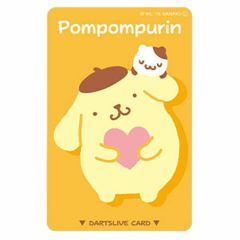 """限定"" 三麗鷗 DARTSLIVE 卡片 - Pompompurin"