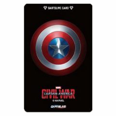 """Limited"" Discontinued DARTSLIVE card  Civil War campaign"