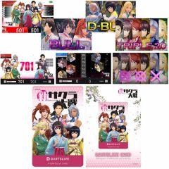 """限量"" DARTSLIVE Card 新櫻花大戰 Project Sakura Wars 帝国華撃団Ver."
