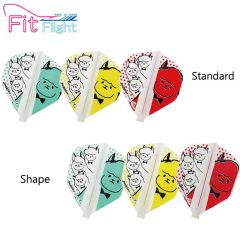"""Fit Flight (厚鏢翼)"" COSMO DARTS × Juggler Alpacas (羊駝) [Standard/Shape]"