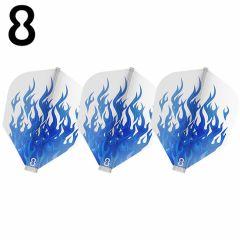 """""""8 FLIGHT"""" 藍色火焰 BLUE FIRE Clear [Shape]"""