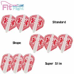 """Fit Flight (厚鏢翼)"" Printed Series COSMO DARTS CREST [Standard/Shape/Super Slim]"