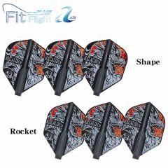 """Fit Flight AIR薄鏢翼"" COSMO DARTS David Cameron ver.2 選手款 [Shape/Rocket]"