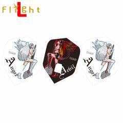 """Flight-L"" DCRAFT Angel & Devil Girl 天使&惡魔女孩 [Shape]"
