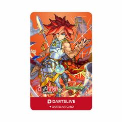 """限定"" DARTSLIVE CARD 卡片 Monster Strike 怪 彈珠 Excalibur 王者之劍"