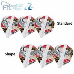 """Fit Flight AIR (薄鏢翼)"" COSMO DARTS Juggler Japanese Crane(鶴) [Standard/Shape]"