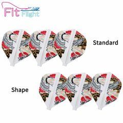 """Fit Flight (厚鏢翼)"" COSMO DARTS Juggler Japanese Crane(鶴) [Standard/Shape]"