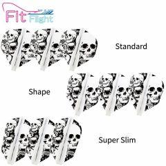"""Fit Flight (厚鏢翼)"" COSMO DARTS Printed Series Skull 骷髏頭 [Standard/Shape/Super Slim]"
