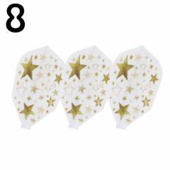 """8 FLIGHT"" GOLD STAR White 白色 [Shape]"