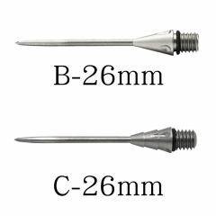 """One80"" RE-FLEX Conversion Point B/C 26mm 硬鏢針"