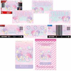 """""""限定"""" Sanrio characters 三麗鷗 DARTSLIVE Theme&LIVE Effect Little Twin Stars 卡片"""
