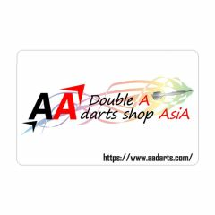 """Card"" AA darts Original Dartslive Card White"
