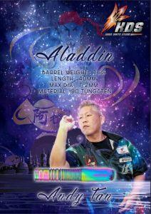 """K.D.S"" K Series - Aladdin (阿拉丁) Andy Tan 選手款 [2BA]"