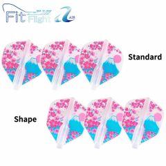 """""""Fit Flight AIR (薄鏢翼)"""" Printed Series Bloom [Standard/Shape]"""