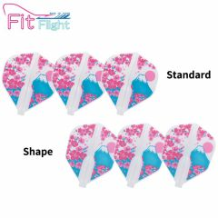 """""""Fit Flight (厚鏢翼)"""" Printed Series Bloom [Standard/Shape]"""