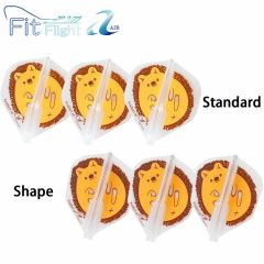 """""""Fit Flight AIR(薄鏢翼)"""" Printed Series Hedgehog 刺猬 [Standard/Shape]"""