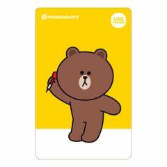 """""""絕版限定"""" PHOENIX PHOENicA CARD Line Friends 2nd BROWN 熊大"""