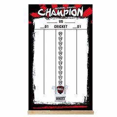 """One80"" Dry Wipe Whiteboard Scoreboard (50cmx30cm) Champion 記分板"
