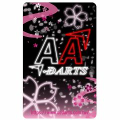 """Card"" AA darts Original Dartslive Card  Ver.2 Pink"
