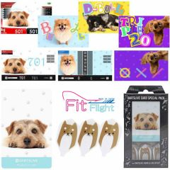 """DARTSLIVE"" Fit Flight Special Pack CARD 鏢翼 + 卡片 + 主題 <Dog(狗)>"