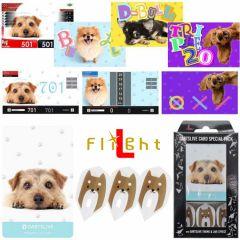 """DARTSLIVE"" L-Flight PRO Special Pack CARD 鏢翼 + 卡片 + 主題<Dog(狗)>"